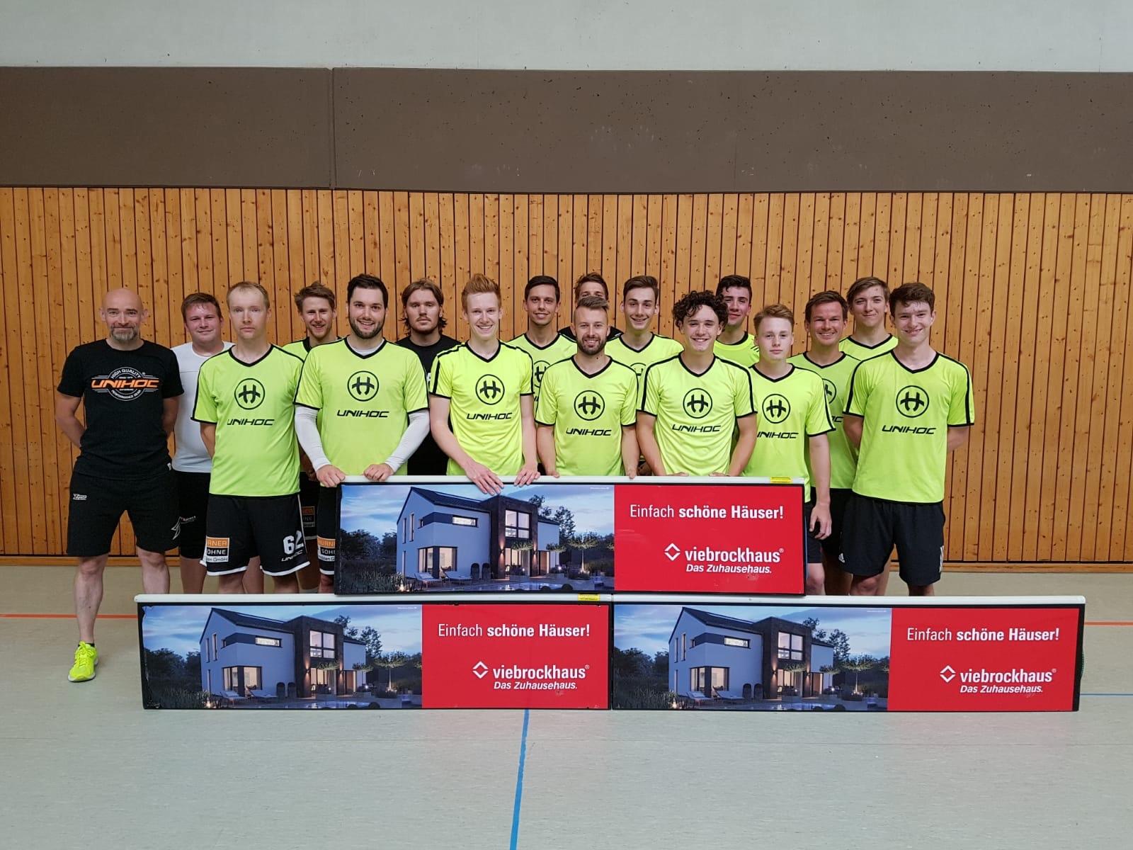 Viebrockhaus Kaarst Neuer Sponsor Djk Holzbüttgen Floorball