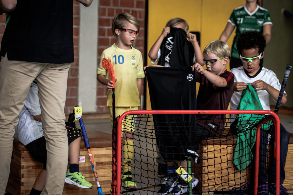 U7 Floorball Training