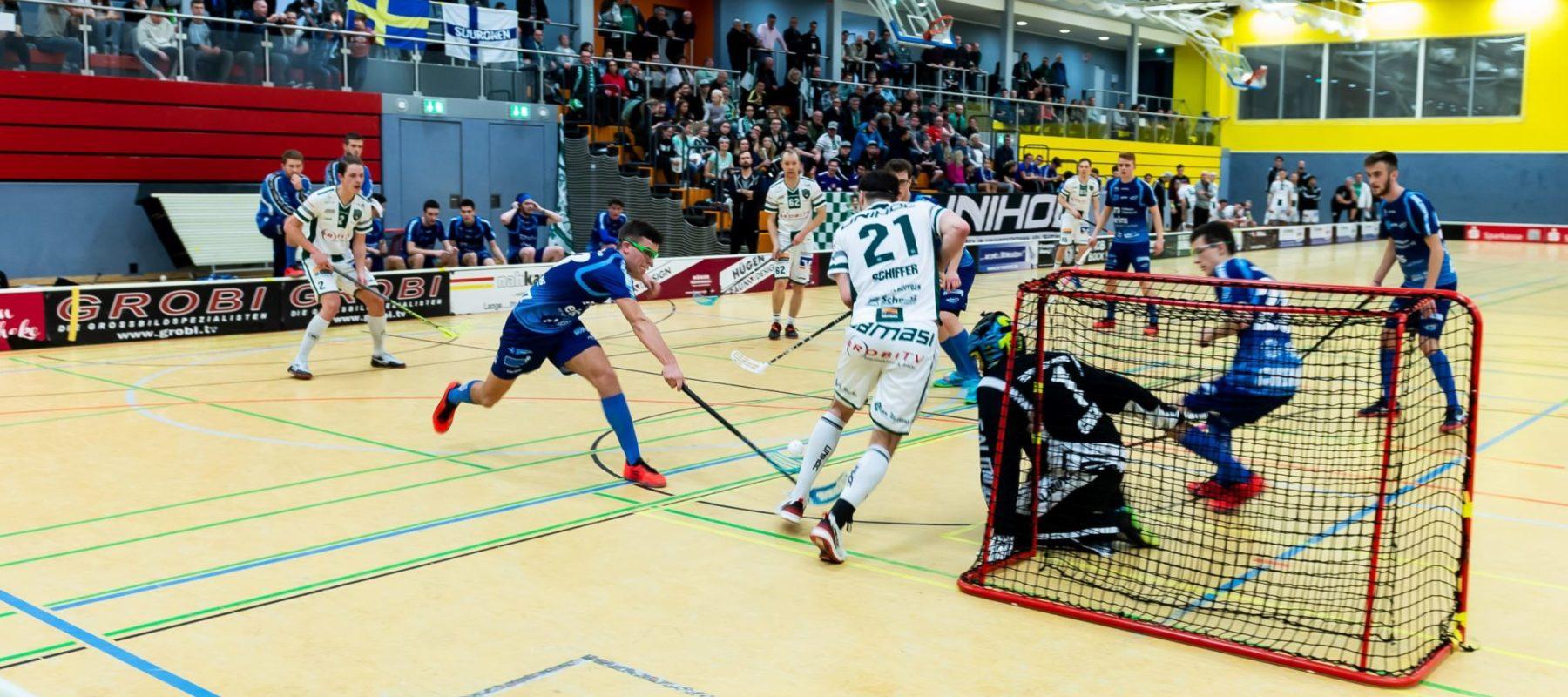 Intensives Spiel vor toller Kulisse - DJK gg. Chemnitz (Foto: Andreas Klüppelberg)