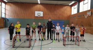 Sporthalle der Grundschule Stakerseite - Floorball AG