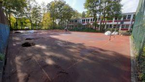 Verlegung Street Floorball Feld bzw. Floorball Outdoor Feld