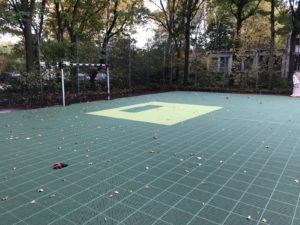 Verlegung Floorball Outdoorfeld